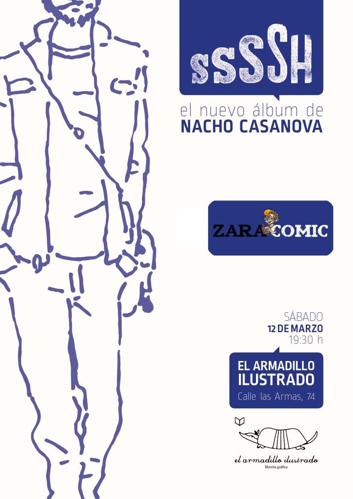 Presentacion SSSSH ZaraCÓMIC